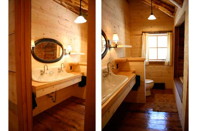 Bathroom designs examples 2017 2018 best cars reviews for Log cabin bathroom design ideas