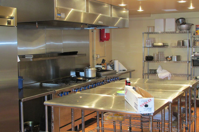 Commercial kitchen construction in New Mexico