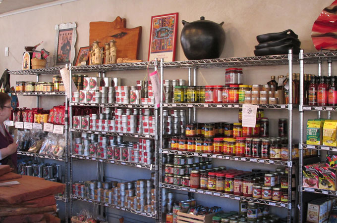 Affordable retail displays for a New Mexico store