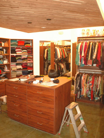 Custom closet design and construction