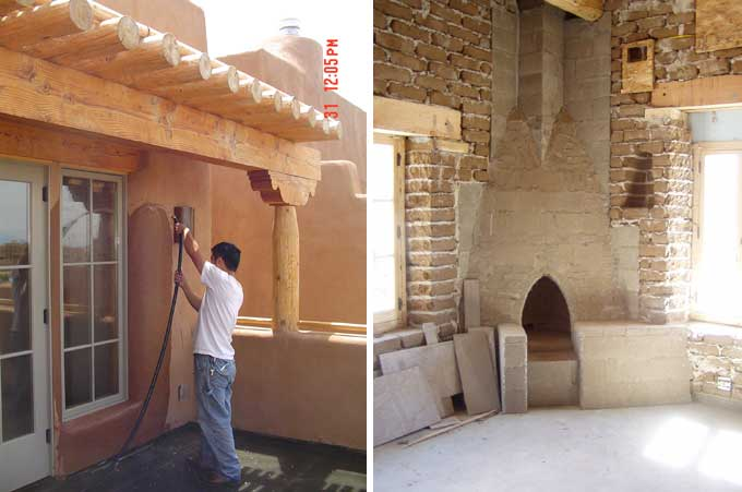 Albuquerque adobe construction and remodeling.