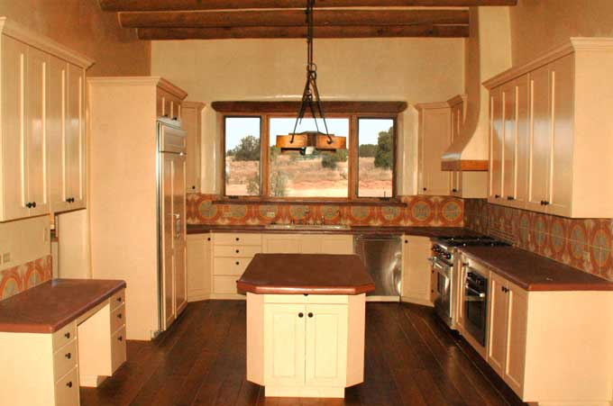 Kitchen and bathroom remodeling.